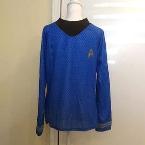 "🖖Halloween ""Spock"" Star Trek Costume & Ears Sz L"